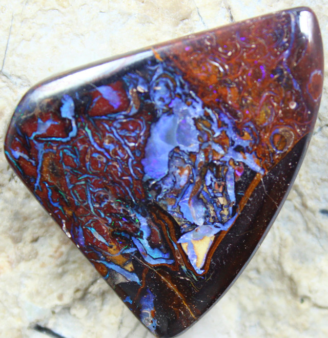 50.45 CTS YOWAH OPAL GORGEOUS NATURAL APPEALING STONE  C1670