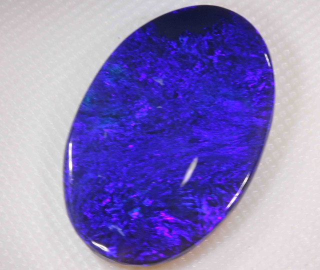 12.70 cts BLACK OPAL FROM LR
