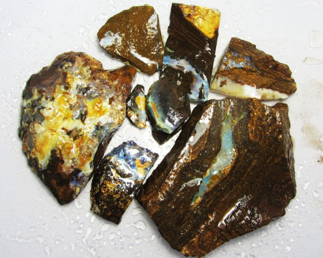 HALF KILO -  OWN PART OF BOULDER HISTORY-ROUGH OPAL MMM716