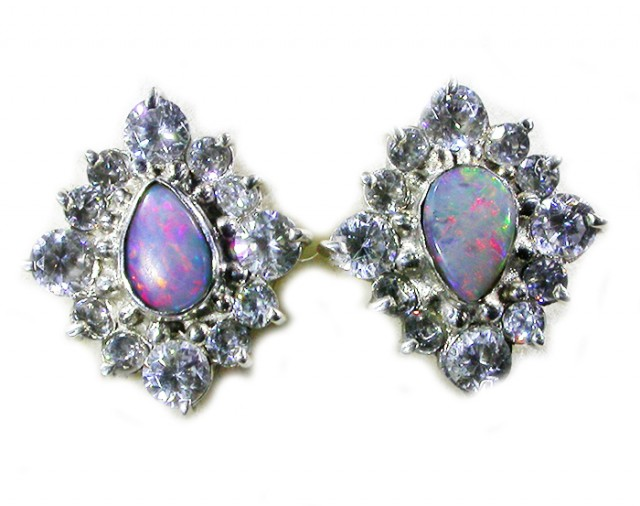 SOLID OPAL WITH C'Cs -FACTORY DIRECT [SOJ3034]