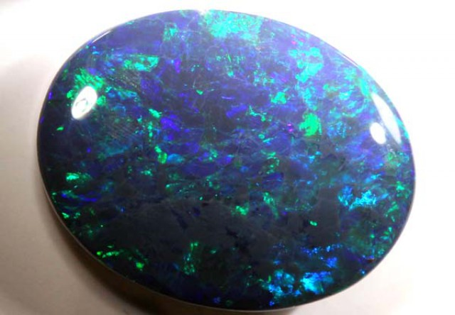 N4 BLACK OPAL POLISHED STONE 9.21CTS TBO-3318