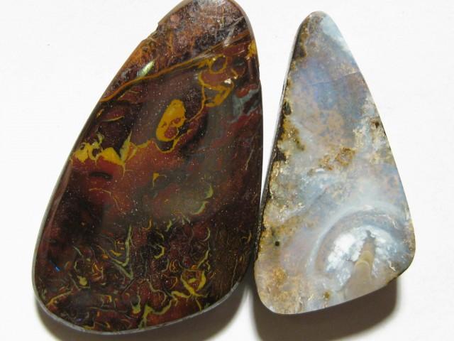 YOWAHOPALS* 67.80Ct- 1 Boulder & 1 Matrix = Opal SALE.