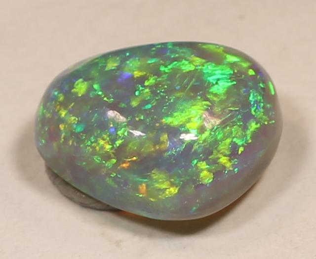 Beautiful Crystal Semi-Black Opal from LR - 1.84 cts FLASHY