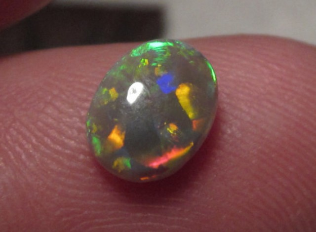 BLACK OPAL/BRIGHT COLORS/N4/COLLECTOR/RING STONE/1.0CT