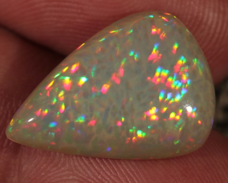 9.24CT COLLECTORS WELO OPAL WITH 5/5 MICRO HONEYCOMB FIRE!