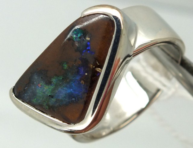 UNISEX MEN-LADIES RINGS SOLIDOPAL 47.70CTS SIZE-10.5  OF-223