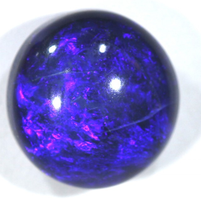 BLACK OPAL POLISHED STONE  5.0  CTS  TBO-462