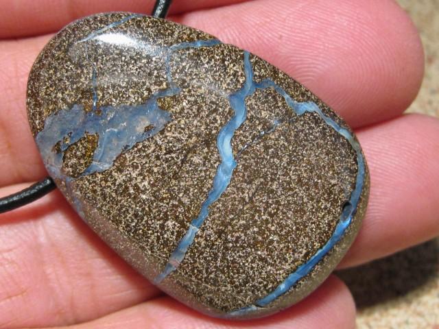YowahOpals*106.95Cts-Boulder Matrix Opal - Pendant.