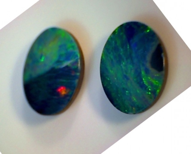 2.9ct Lovely Coober Pedy Opal Flashy Colours GO22