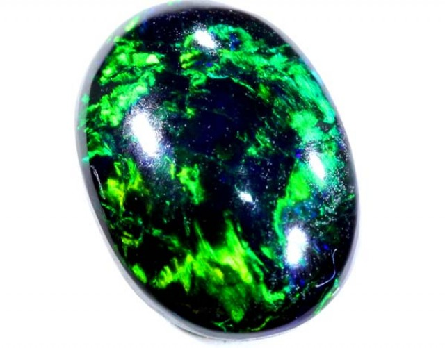 BLACK OPAL POLISHED STONE   0.90 CTS  TBO-597