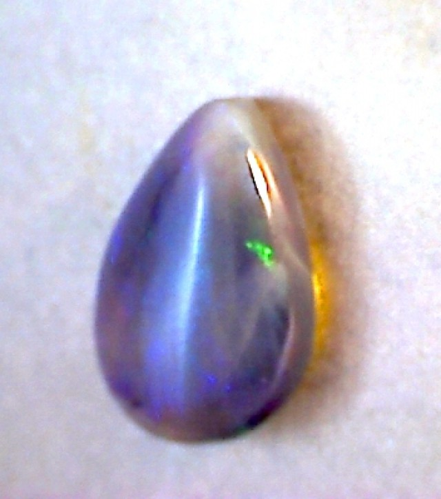 Beautiful 6.2ct Pear shaped Crystal Opal - Australia JM76