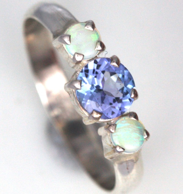 7.5 SIZE TANZANITE + SOLID OPALS-FACTORY DIRECT[SOJ3571]