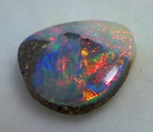 2.10ct Firey Multi Colour Boulder Opal Australia MH27