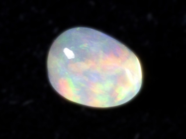 1.3ct Rainbow Mexican Fire Opal (MO66)