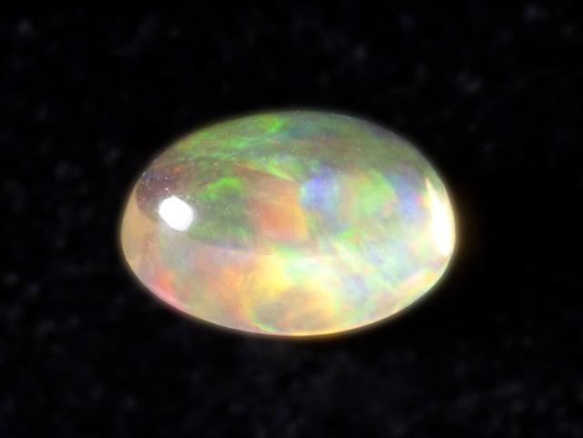 1.9ct Green / Rainbow Mexican Fire Opal (MO73)