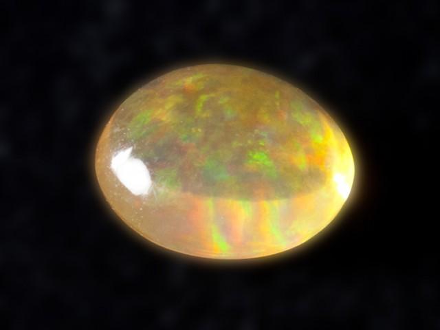 2.1ct Orange Rainbow Mexican Fire Opal (MO81)