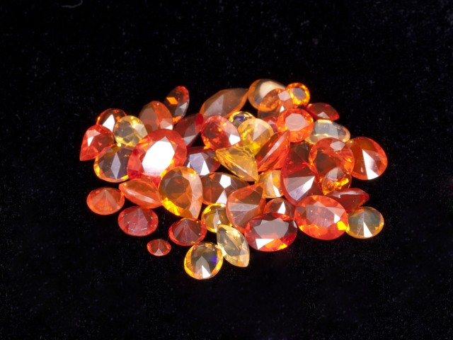 20ct Faceted Mexican Jelly Opal Parcel (MOL132)