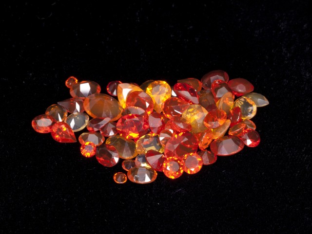 21ct Faceted Mexican Jelly Opal Parcel (MOL133)