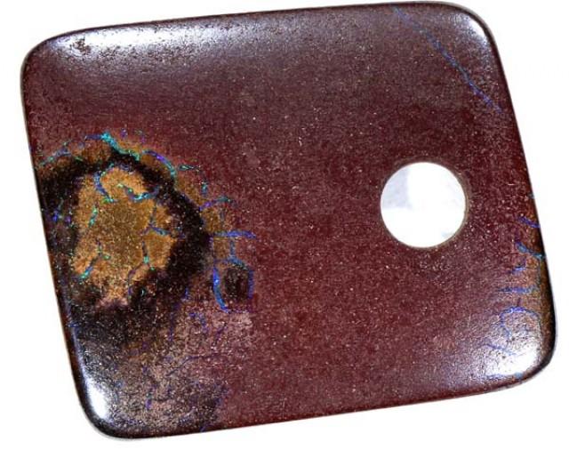 5.6  CTS KOROIT OPAL DRILLED PENDANT  ADO - 486