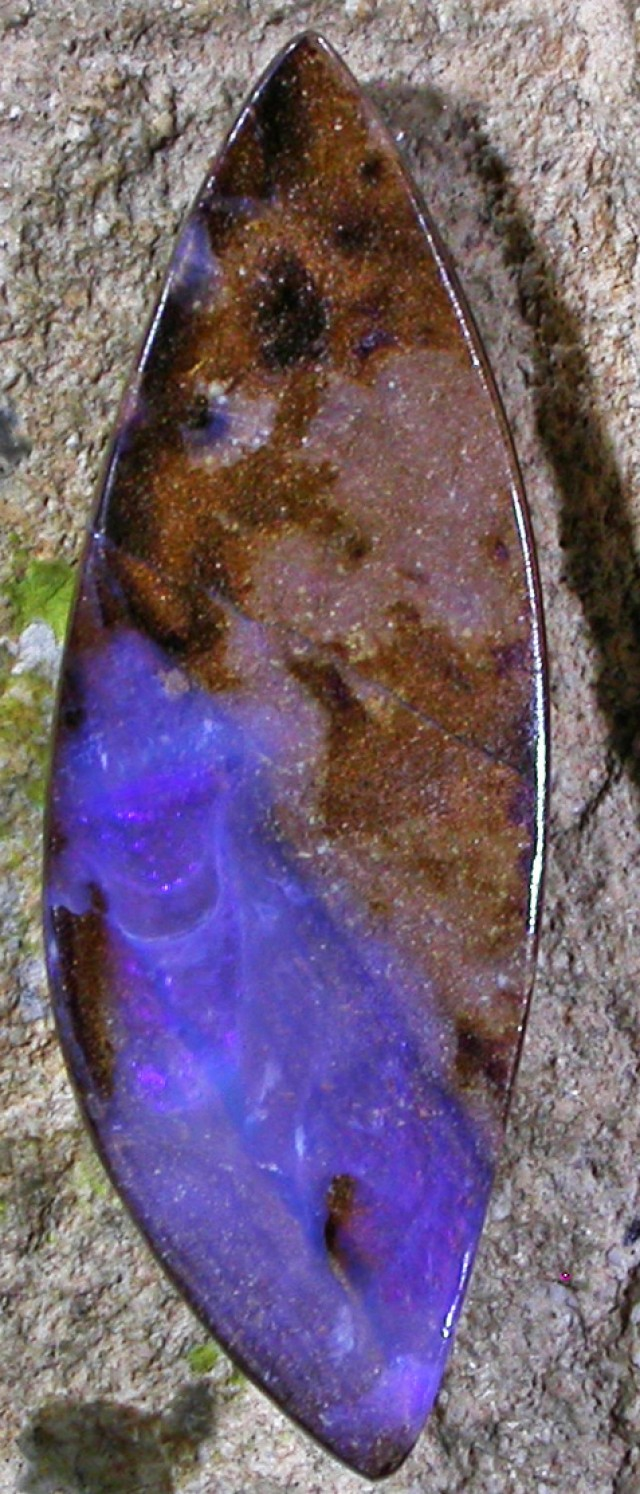 13.27 CTS  BOULDER OPAL AUSSIE POLISHED MS9444