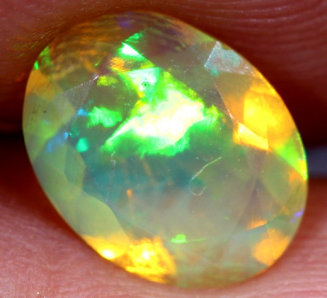 1.05 CTS ETHIOPIAN WELO FACETED STONE  FOB - 47