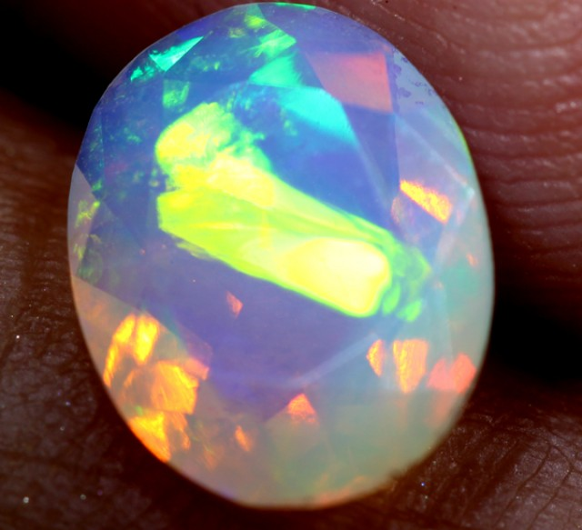 0.95 CTS ETHIOPIAN WELO FACETED STONE   FOB - 50