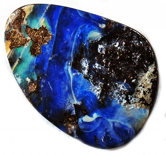 18.50 CTS  BOULDER OPAL AUSSIE POLISHED MS9600