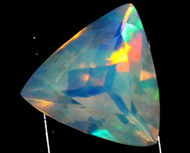 ETHIOPIAN WELO FACETED STONE 1.1 CTS FOB -56