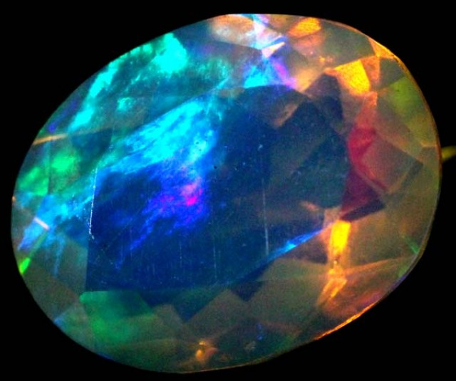 ETHIOPIAN WELO FACETED STONE 1.2 CTS FOB - 53