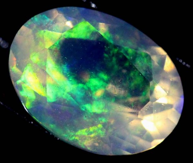ETHIOPIAN WELO FACETED STONE 0.8 CTS FOB -62