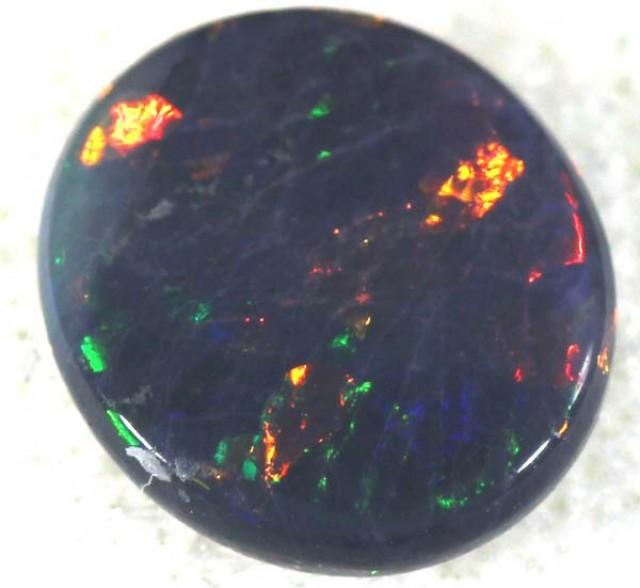N1 quality BLACK OPAL POLISHED SOLID  STONE 1.05CTS TBO-739