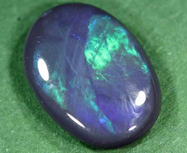 FREE SHIPPING  4.10 ct BLACK OPAL FROM LR - FREE SHIPPING