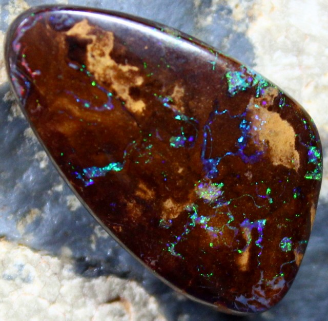 32.45 CT TOP YOWAH OPAL ELECTRIC FIRE PERFECT JEWELLER STONE C3623