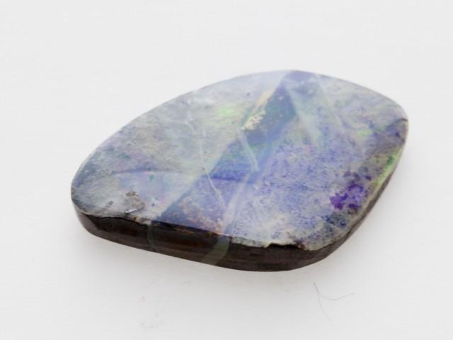 3.1ct Round Cabochon Boulder Opal (BO65)