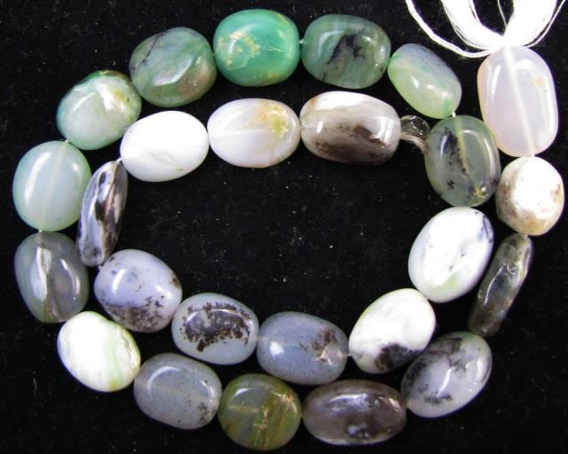 200 Cts Strand peru Opal beads    QOM 1217