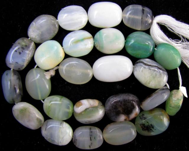 175 Cts Strand peru Opal beads    QOM 1222