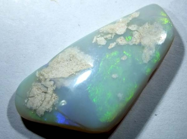 BLACK OPAL POLISHED  SPECIMEN L. RIDGE  25 CTS  DT-1830