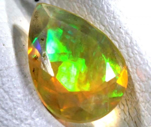 ETHIOPIAN WELO FACETED STONE 0.6 CTS FOB -75