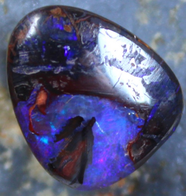 9.50 CTS YOWAH OPAL GREAT PATTERN TOP POLISH STONE C4682