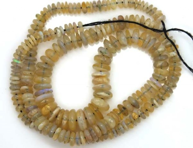 OPAL BEADS  DRILLED NECKLACE 75  CTS  TBO-950