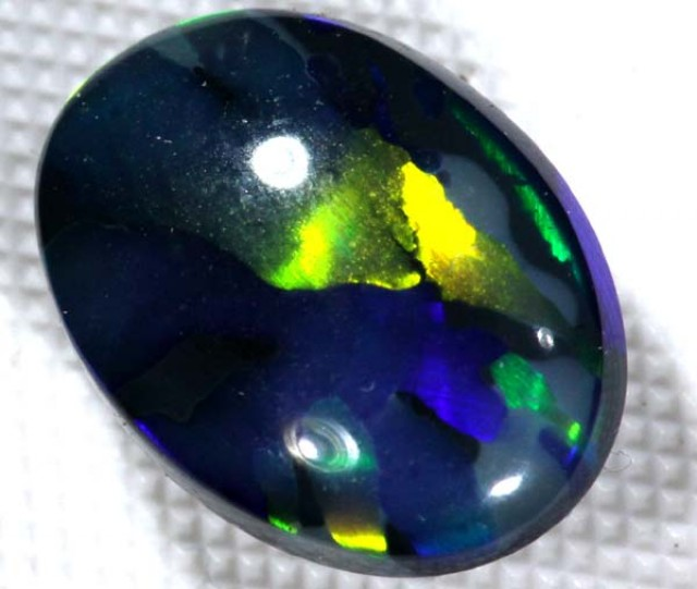 N1 QUALITY BLACK OPAL L RIDGE GEM GRADE1.85CTS INV-84