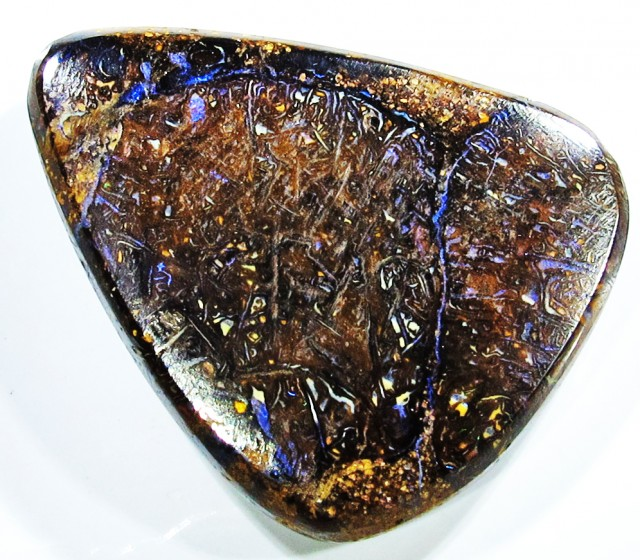 29.33 CTS 2 SIDED YOWAH STONE -TOP POLISH [SO842]