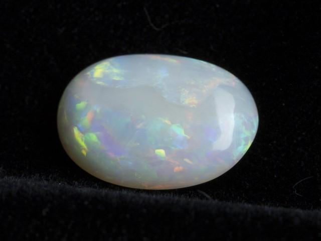 3.90ct Rainbow Floral Oval Crystal Opal (CY47)