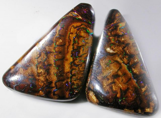 22.8 CTS YOWAH WELL POLISHED PAIR [SO1129 ]