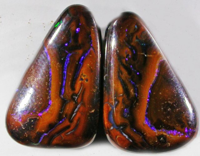 19.6 CTS YOWAH WELL POLISHED PAIR [SO1137 ]