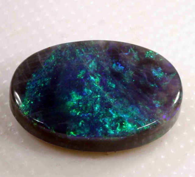 FREE SHIPPING  2.60 CT BLACK OPAL FROM LR