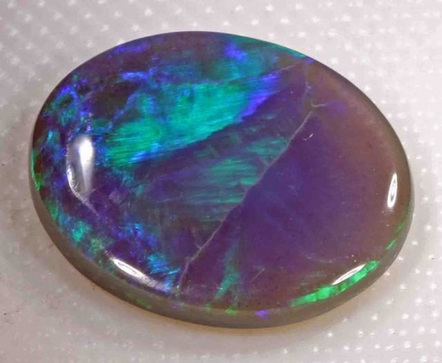 FREE SHIPPING  2.70 ct BLACK OPAL FROM LR
