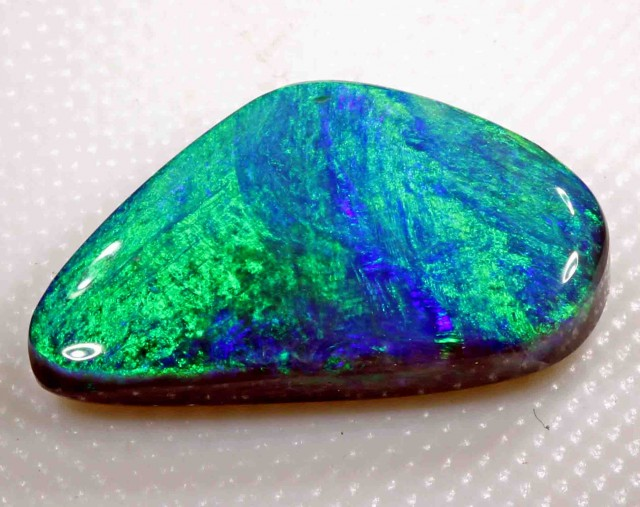 5.30 cts  BLACK OPAL FROM LR -