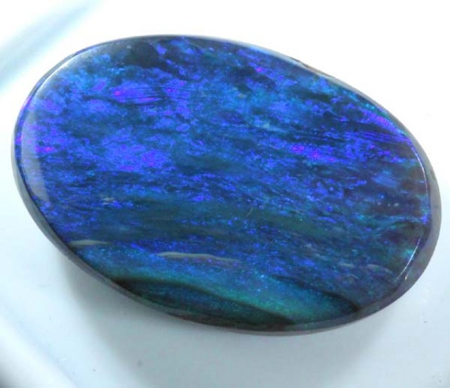 N2 BLACK OPAL POLISHED  8  CTS  TBO-1149
