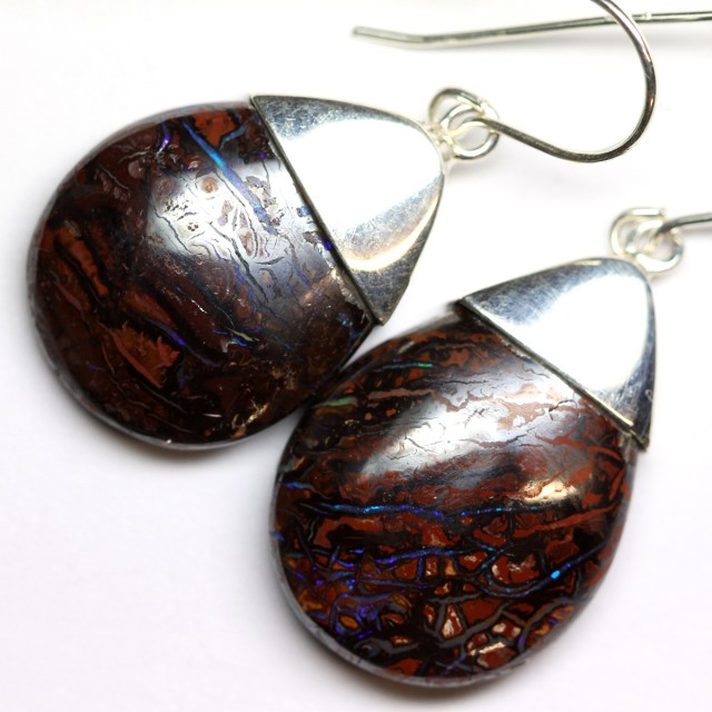 YOWAH SILVER EARRINGS -FACTORY DIRECT [SOJ3851 ]